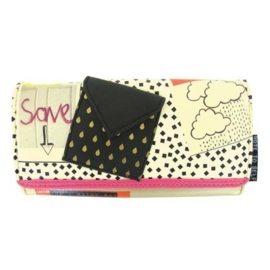 "Disaster Designs Note To Self  ""Save"" Wallet"
