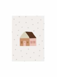 Leonie van der Laan postkaart huisje