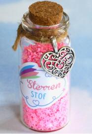 Droomdeurtjes sterrenstof roze