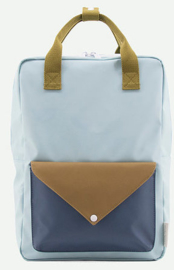 Sticky Lemon Backpack Enveloppe Large Misty Green