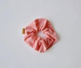 Ollie & Flo scrunchie wokkel flamingo roze