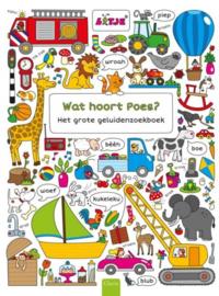Wat hoort poes? Het grote dierenzoekboek