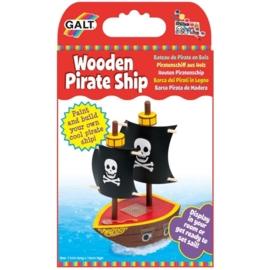 Galt  houten piratenschip