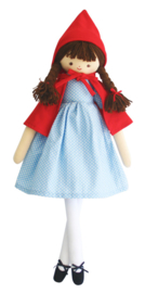 ALIMROSE STORY TIME LI'L RED RIDING HOOD DOLL 52CM