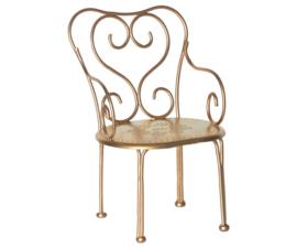 Maileg vintage chair gold - romantische stoel goudkleurig