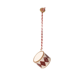 Maileg METAL ORNAMENT, SMALL DRUM - RED