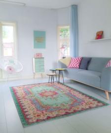Vintage stijl tapijt Pastel