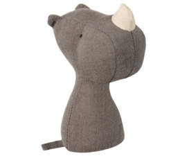 Maileg NOAH'S FRIENDS, RHINO RATTLE