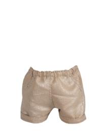 Maileg mini zilveren korte broekje