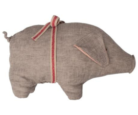 Maileg PIG W. GREY, MEDIUM