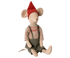 Maileg CHRISTMAS MOUSE, MEDIUM - BOY