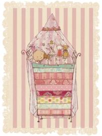 Maileg kaartje prinses op de erwt