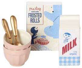 Maileg breakfast set for two - ontbijtset voor twee