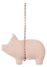 Maileg Pig ornament pink
