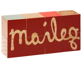 Maileg LOGO BLOCKS, MAILEG - MULTI COLOR