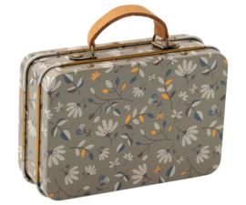 Maileg SUITCASE, METAL - MERLE DARK