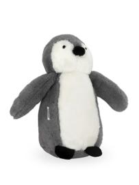 Jollein knuffel pinguïn storm grey