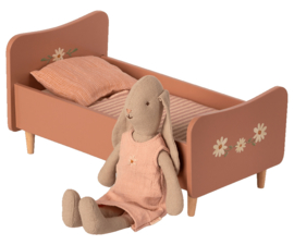 Maileg Wooden bed, Mini - ROSE