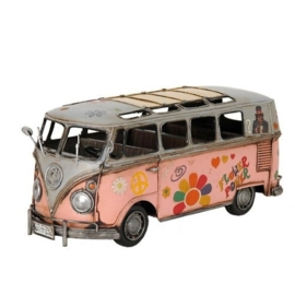 Deco  Roze T1 Deluxe Bus flower power