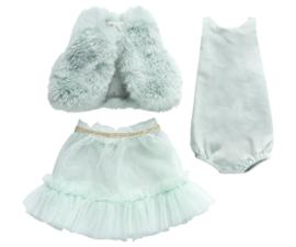 Maileg Best friends  ballerina dress mint