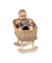 Minikane schommelbedje voor de pop