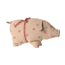 Maileg PIG W. DOTS, SMALL