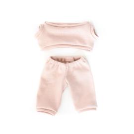 Nuki-Nuby joggingpak pop roze