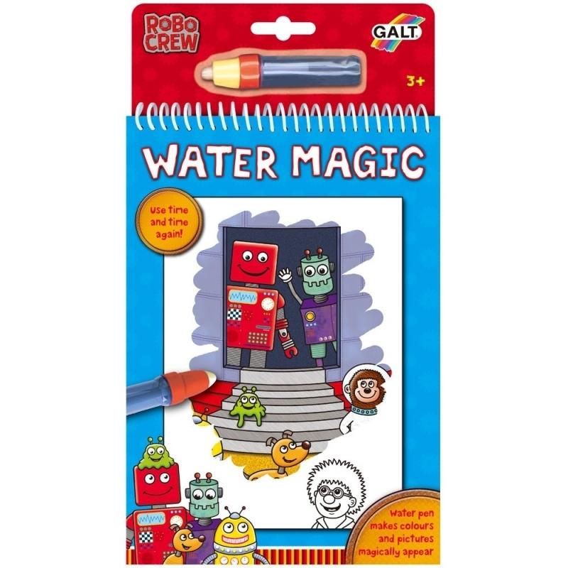 Galt Water Magic robots - kleuren met water