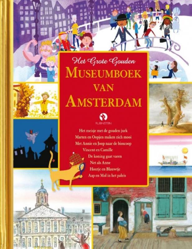Het Gouden Museumboek van Amsterdam