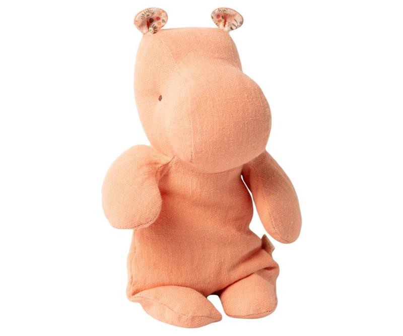 Maileg SAFARI FRIENDS, SMALL HIPPO - APRICOT
