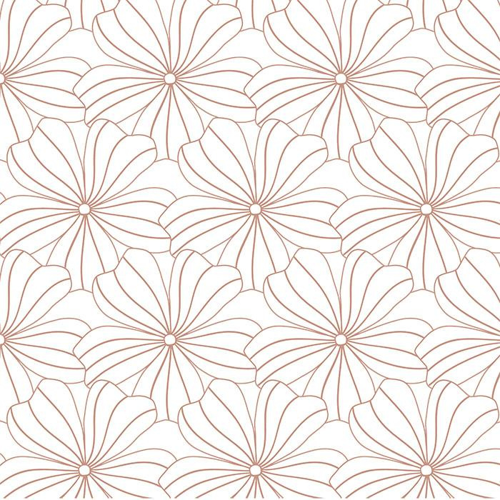Swedish Linens FLOWERS White 90x200 fitted sheet