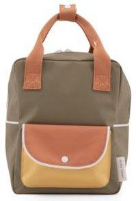 Sticky Lemon Backpack Wanderer Small Green-Orange-Yellow