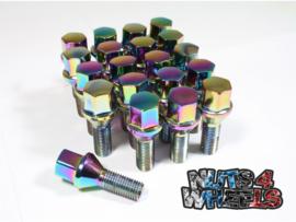 Titanium chrome Bouten