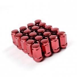 Wielmoeren gesloten staal kleur rood