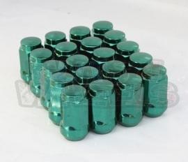Wielmoeren gesloten staal kleur groen
