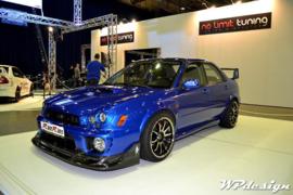 Fender flares Subaru WRX  4-deurs