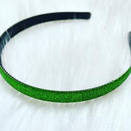Diadeem glitter groen