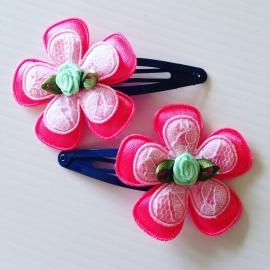 Haarspeldjes:neon/Rose/mint