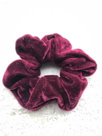 Scrunchie Donker rood