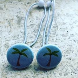 Haarelastiekjes Palmboompje