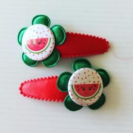 Haarspeldjes vrolijke watermeloentjes