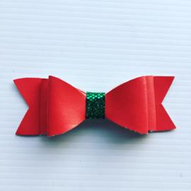 Haarstrik Rood/groen