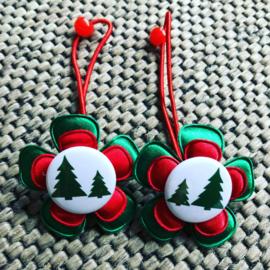 Haarelastiekjes Christmas tree