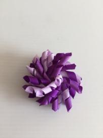 Mini Krullie Donker paars/lila