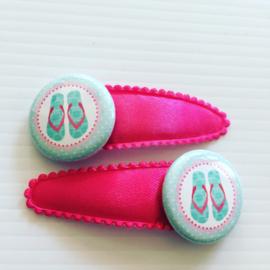 Haarspeldjes slippers