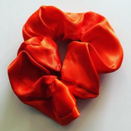 Schrunchie oranje