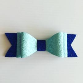 Haarstrik Blauw