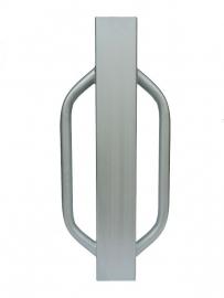 Palenrammer / Heiblok 750x120x120 Verzinkt.