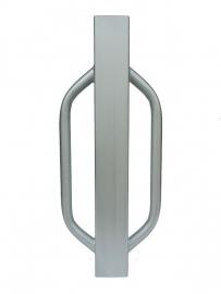 Heiblok / Palenrammer 750x100x100 Verzinkt.