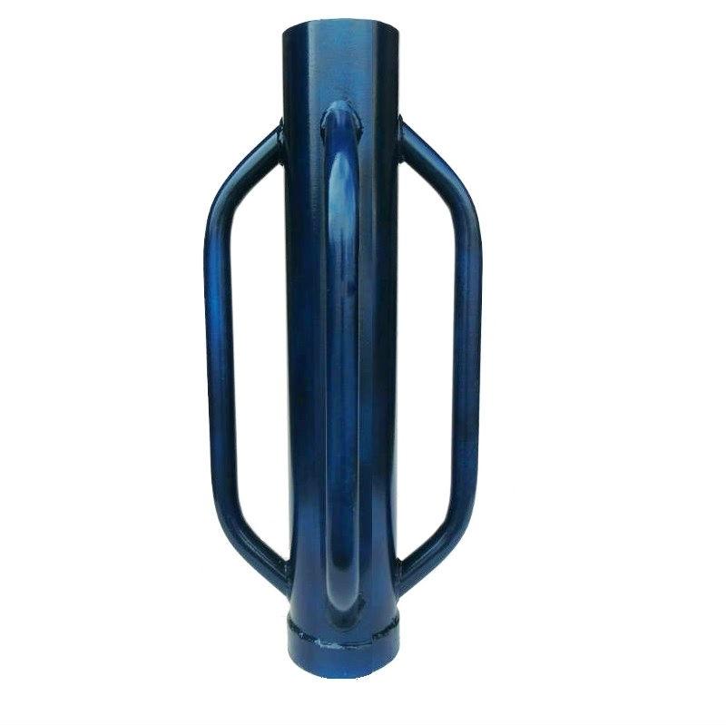 Palenrammer  Handhei 750x140 Vier handvatten blauw.
